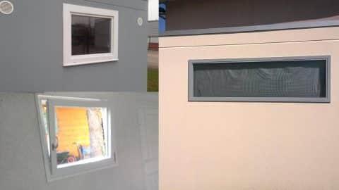 Differents modèles de fenêtre