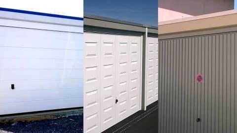 Portes de garage différents motifs